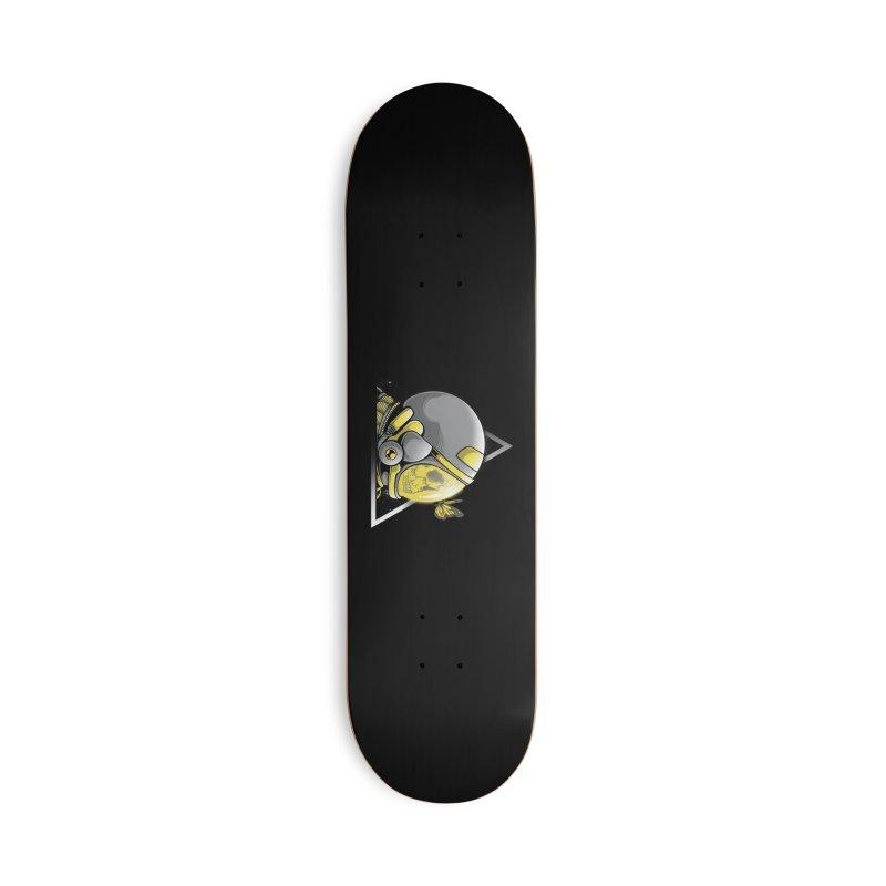 Hello Accessories Skateboard by godzillarge's Artist Shop