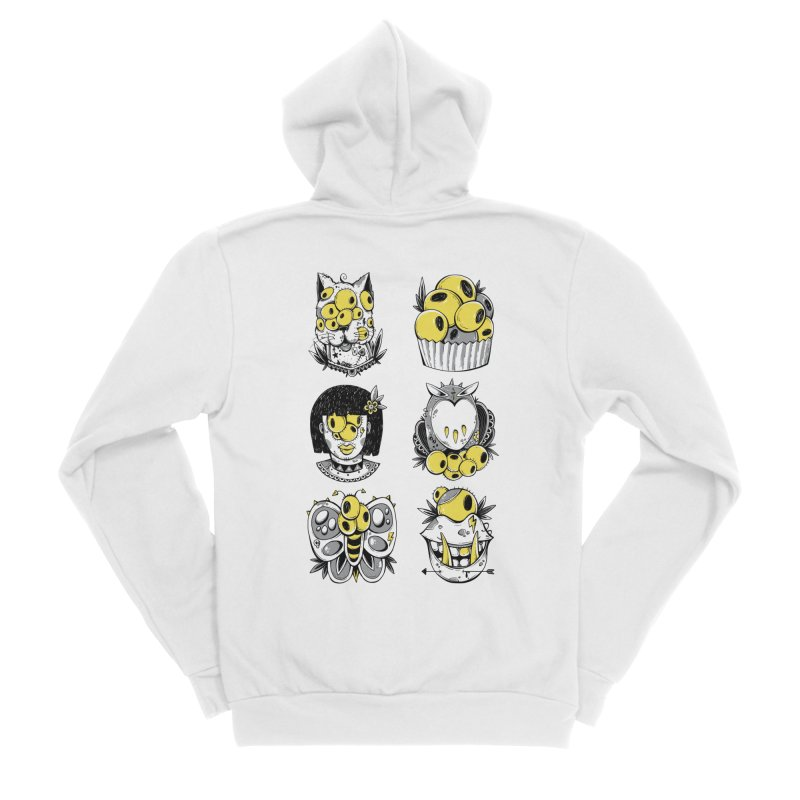 Monster Squad Men's Zip-Up Hoody by godzillarge's Artist Shop