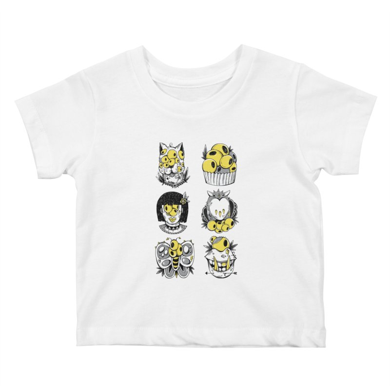 Monster Squad Kids Baby T-Shirt by godzillarge's Artist Shop