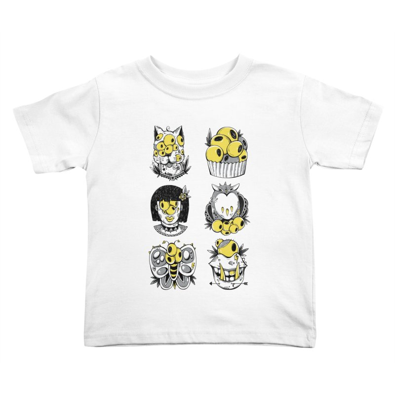 Monster Squad Kids Toddler T-Shirt by godzillarge's Artist Shop