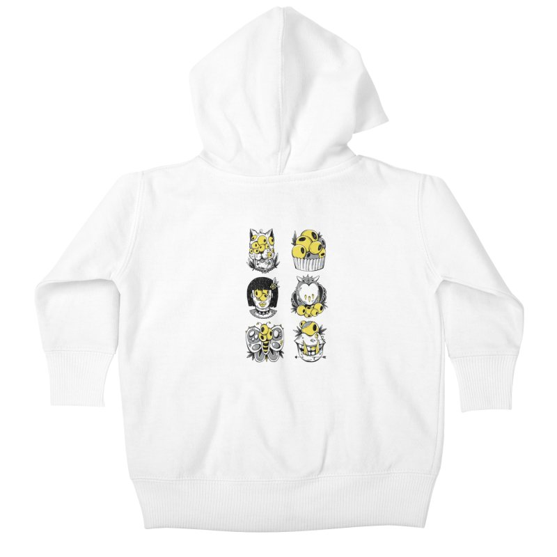 Monster Squad Kids Baby Zip-Up Hoody by godzillarge's Artist Shop