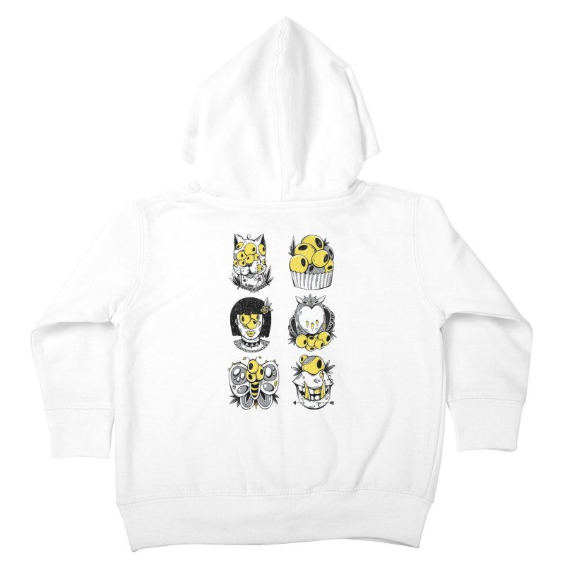 Monster Squad Kids Toddler Zip-Up Hoody by godzillarge's Artist Shop