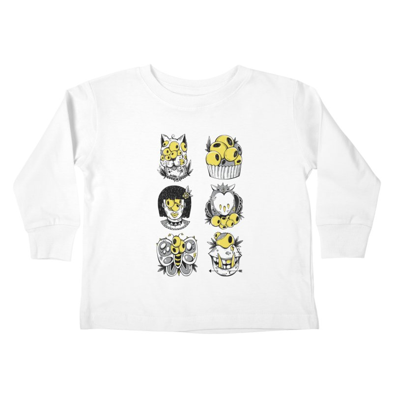Monster Squad Kids Toddler Longsleeve T-Shirt by godzillarge's Artist Shop