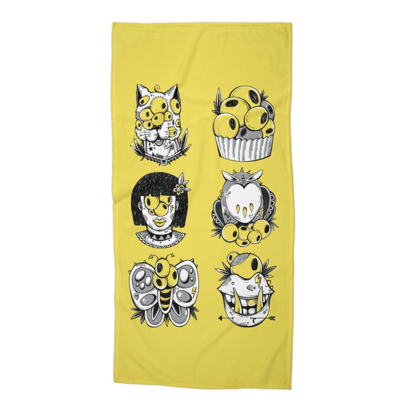 Monster Squad Accessories Beach Towel by godzillarge's Artist Shop