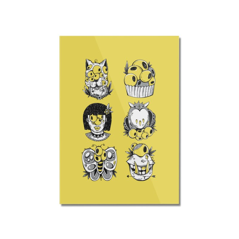 Monster Squad Home Mounted Acrylic Print by godzillarge's Artist Shop