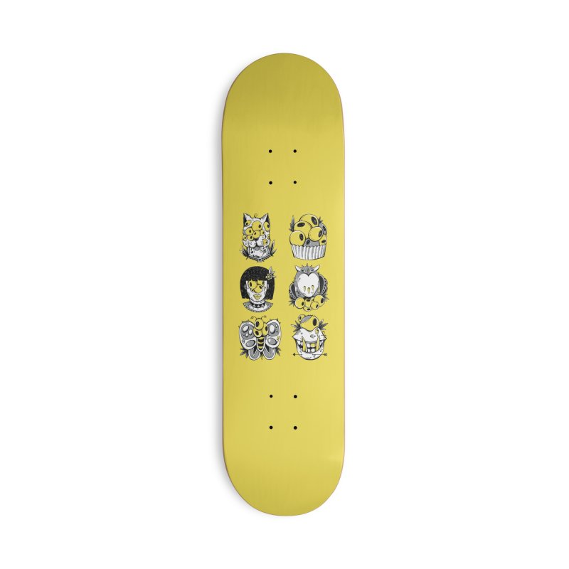 Monster Squad Accessories Skateboard by godzillarge's Artist Shop