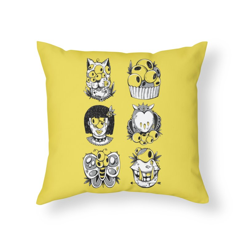 Monster Squad Home Throw Pillow by godzillarge's Artist Shop