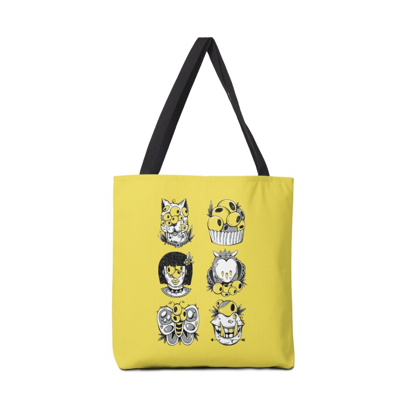 Monster Squad Accessories Bag by godzillarge's Artist Shop