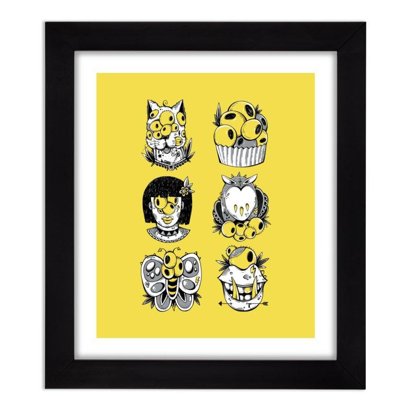 Monster Squad Home Framed Fine Art Print by godzillarge's Artist Shop
