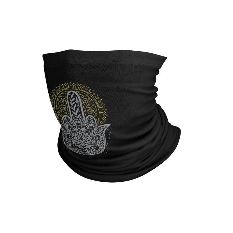 Zero Namaste Given Accessories Neck Gaiter by godzillarge's Artist Shop