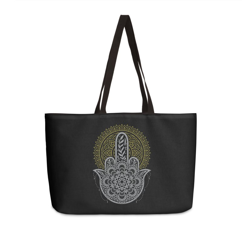 Zero Namaste Given Accessories Bag by godzillarge's Artist Shop