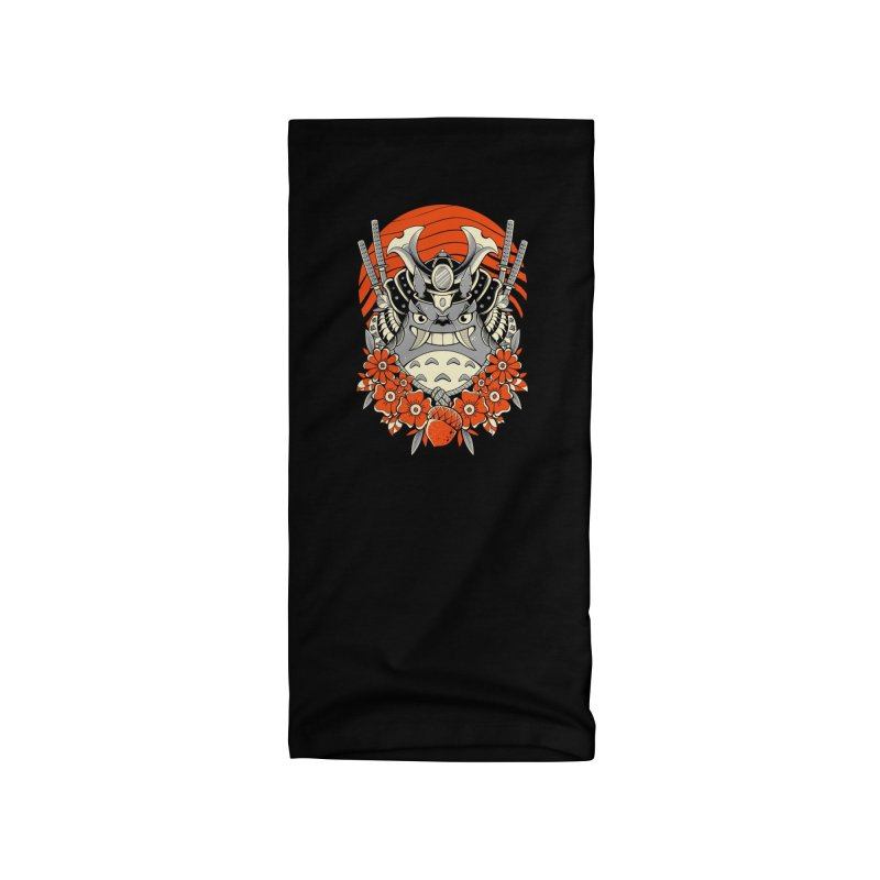 Samurai Neighbor Accessories Neck Gaiter by godzillarge's Artist Shop