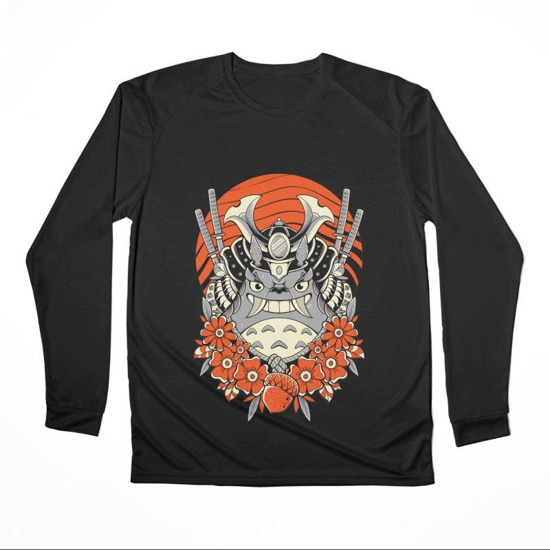 Samurai Neighbor Women's Longsleeve T-Shirt by godzillarge's Artist Shop
