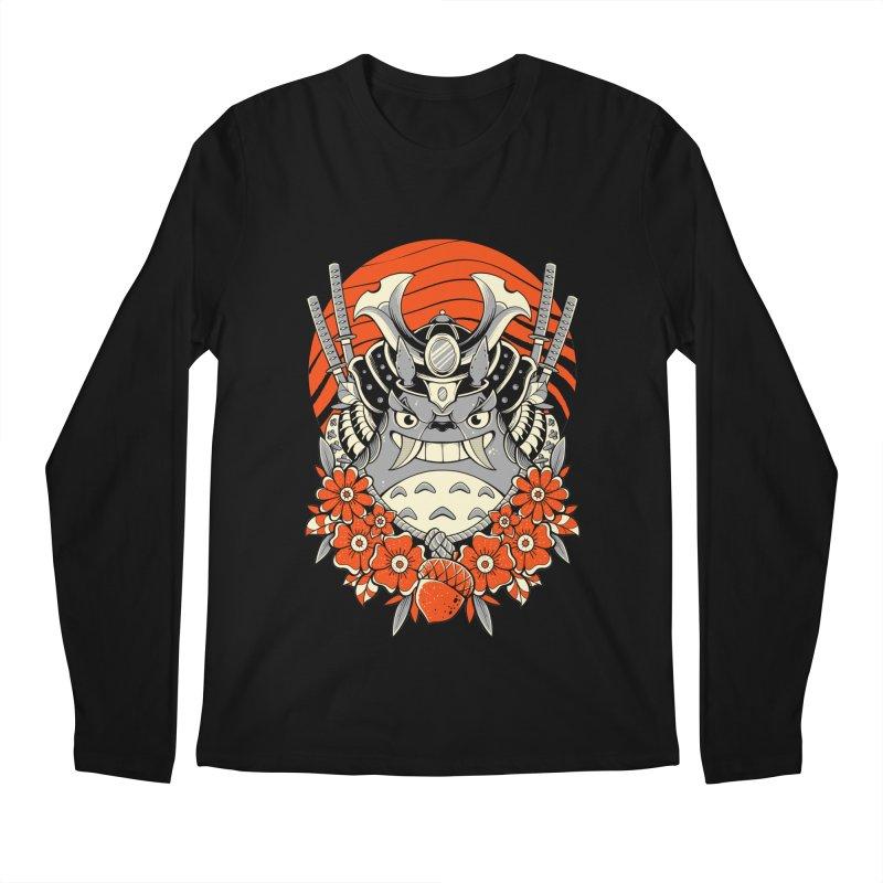 Samurai Neighbor Men's Longsleeve T-Shirt by godzillarge's Artist Shop