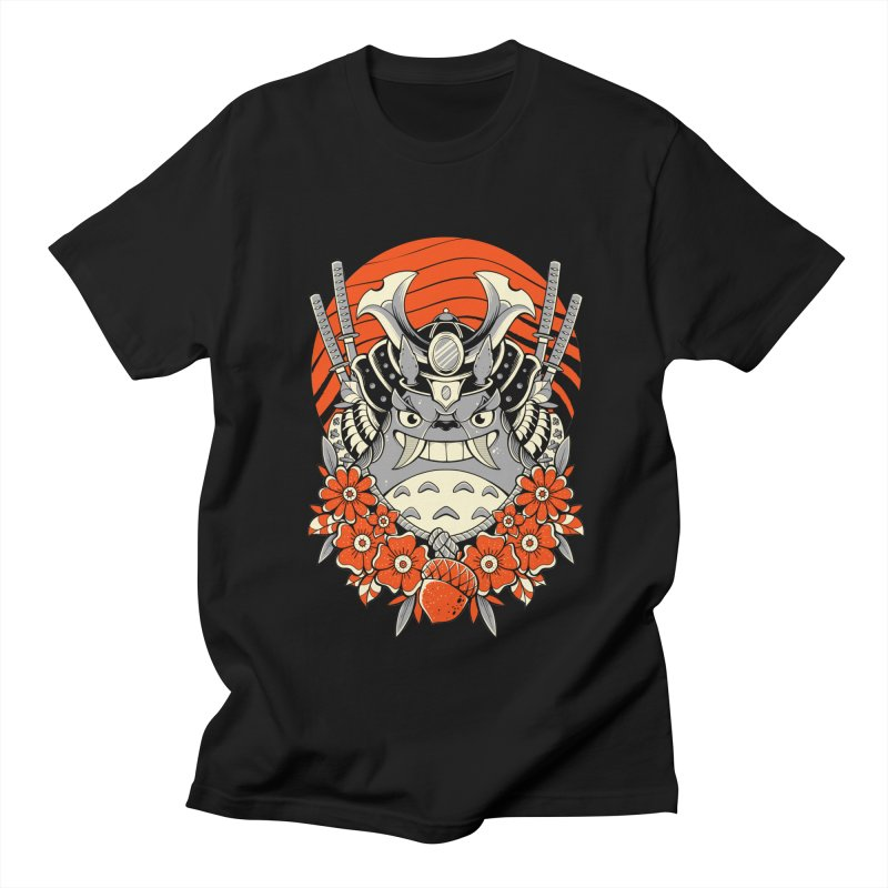 Samurai Neighbor Men's T-Shirt by godzillarge's Artist Shop