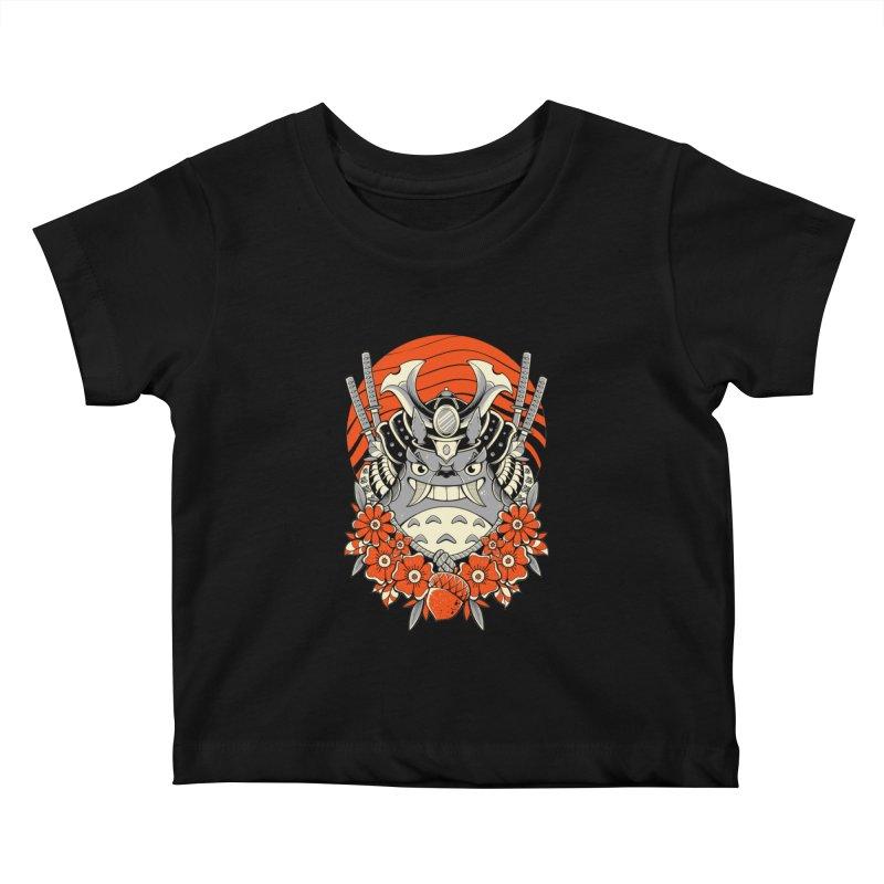Samurai Neighbor Kids Baby T-Shirt by godzillarge's Artist Shop