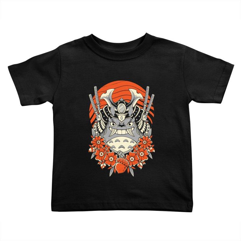 Samurai Neighbor Kids Toddler T-Shirt by godzillarge's Artist Shop