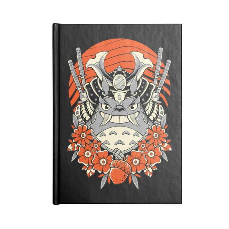 Samurai Neighbor Accessories Notebook by godzillarge's Artist Shop