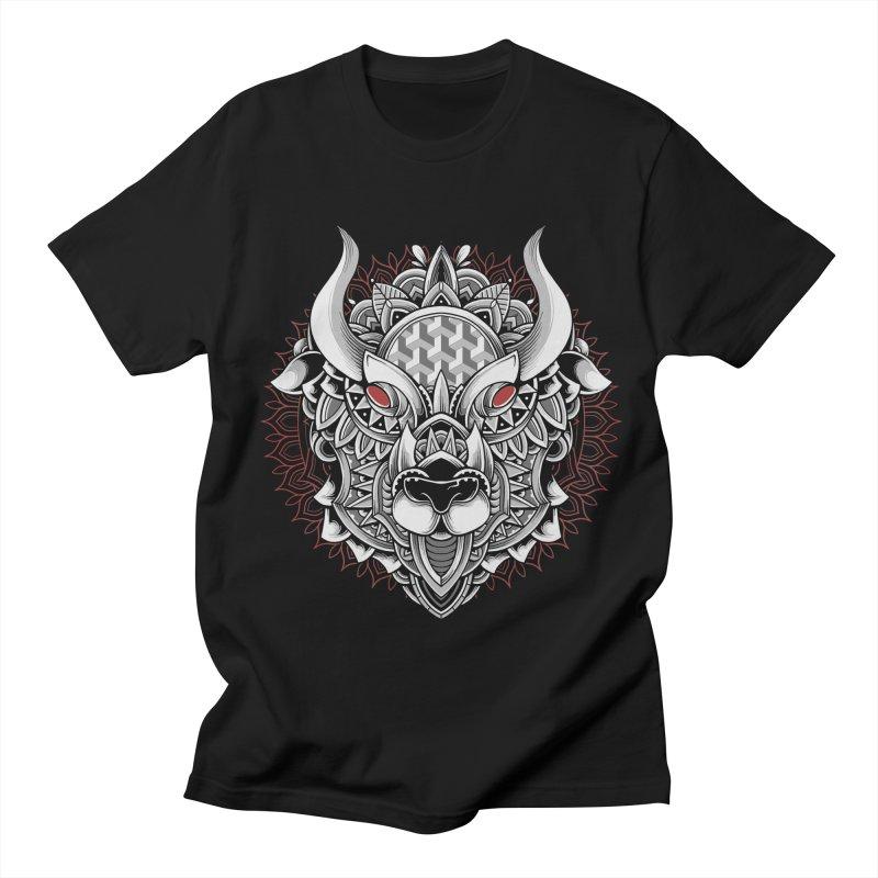 Ox Mandala Men's T-Shirt by godzillarge's Artist Shop