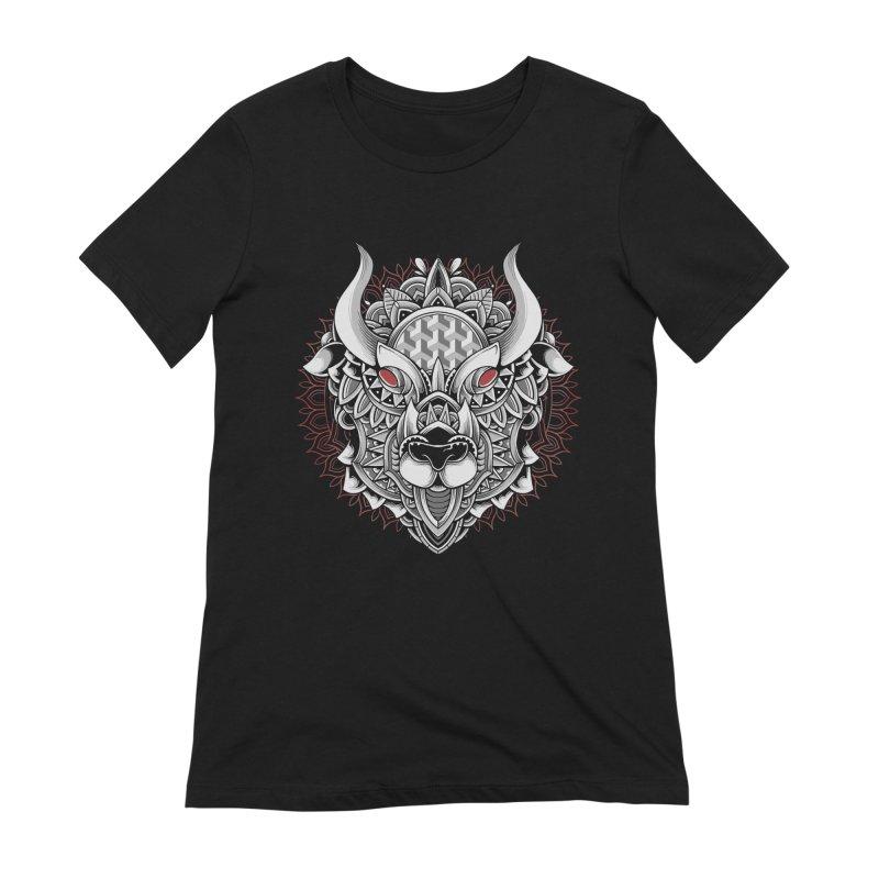 Ox Mandala Women's T-Shirt by godzillarge's Artist Shop