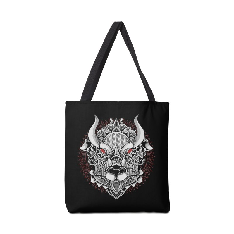 Ox Mandala Accessories Bag by godzillarge's Artist Shop