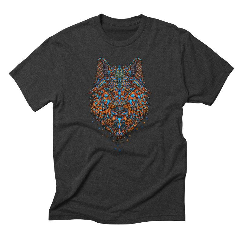 Shards of Predator Men's Triblend T-shirt by godzillarge's Artist Shop