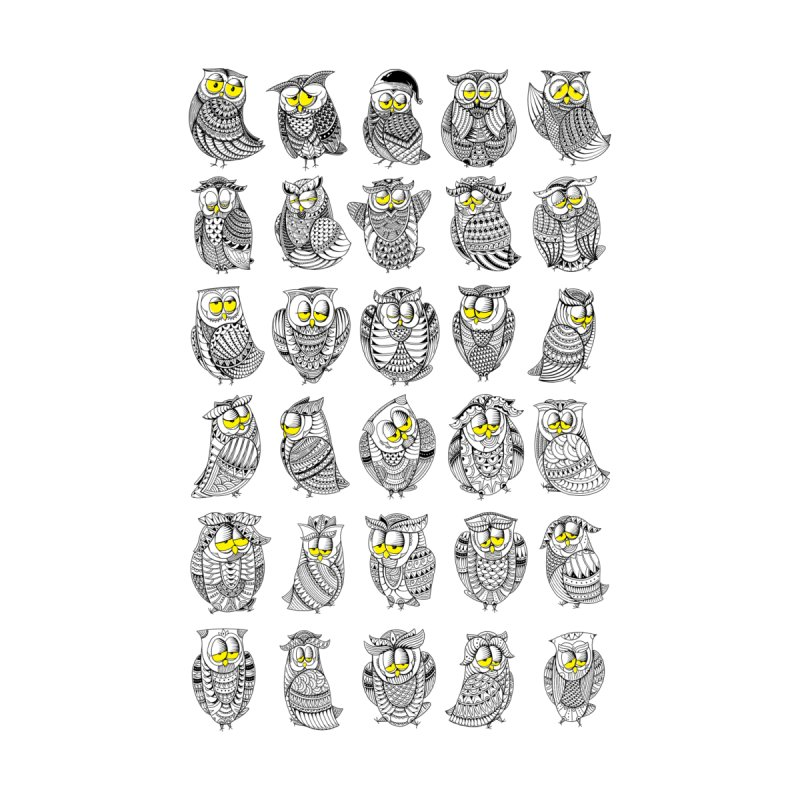 Sleepy Owls None  by godzillarge's Artist Shop