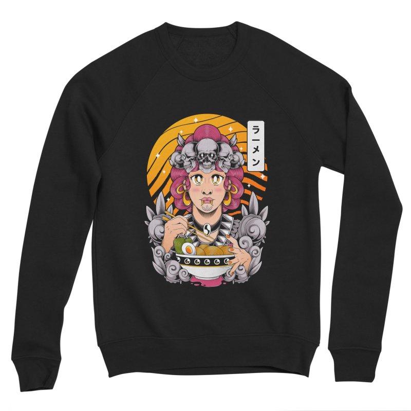 Ramen Goddess Men's Sweatshirt by godzillarge's Artist Shop