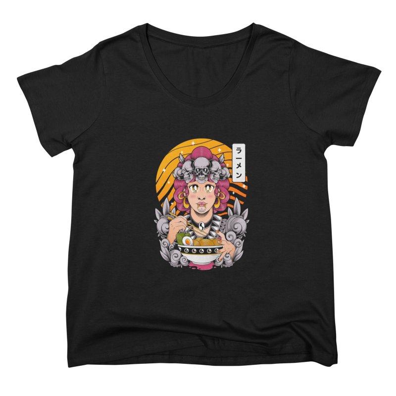 Ramen Goddess Women's Scoop Neck by godzillarge's Artist Shop