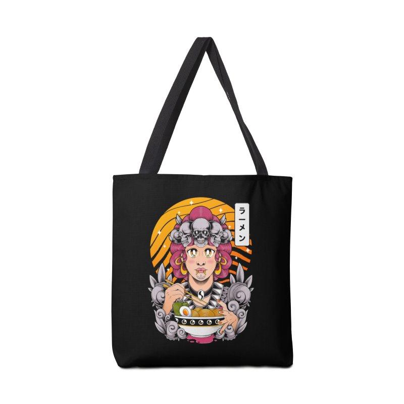 Ramen Goddess Accessories Bag by godzillarge's Artist Shop