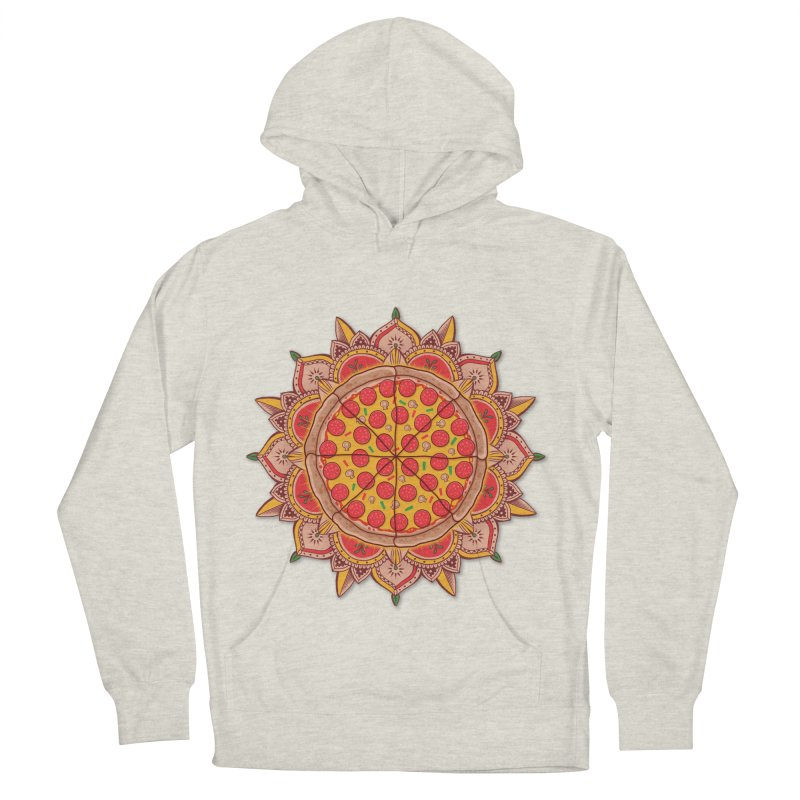 Sacred Pizza Women's Pullover Hoody by godzillarge's Artist Shop