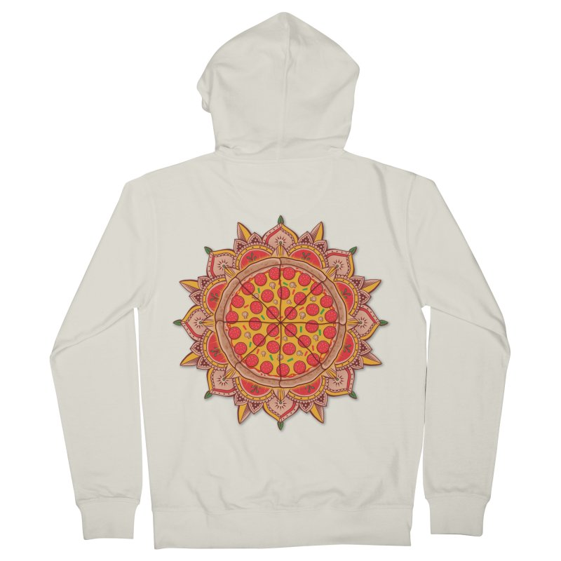 Sacred Pizza Women's Zip-Up Hoody by godzillarge's Artist Shop