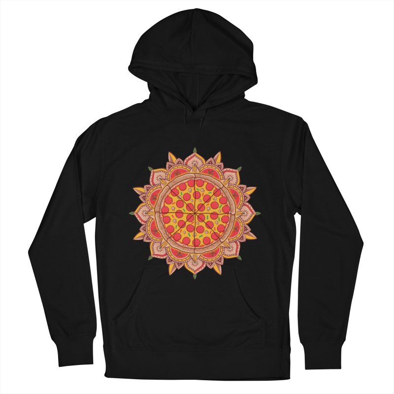 Sacred Pizza Men's Pullover Hoody by godzillarge's Artist Shop