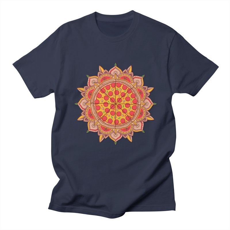 Sacred Pizza Men's T-Shirt by godzillarge's Artist Shop