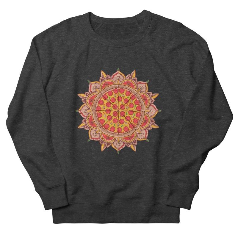 Sacred Pizza Men's Sweatshirt by godzillarge's Artist Shop