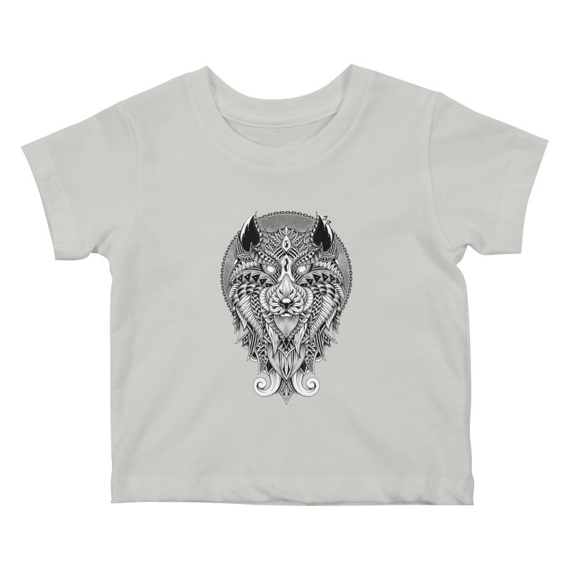 Wild Spirit Kids Baby T-Shirt by godzillarge's Artist Shop