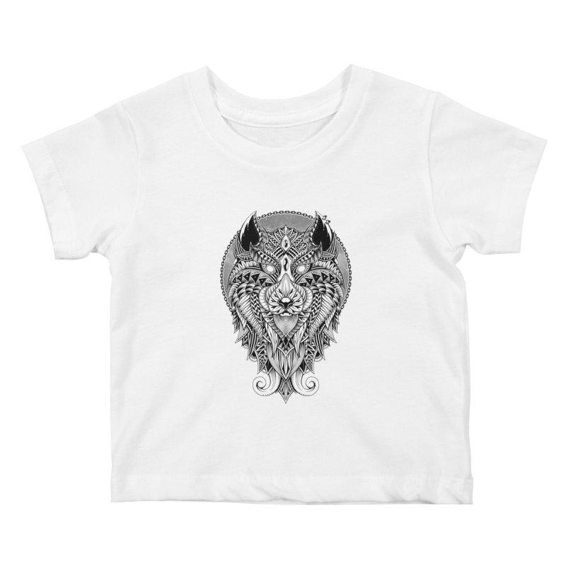 Wild Spirit Kids Baby T-Shirt by godzillarge's Artist Shop
