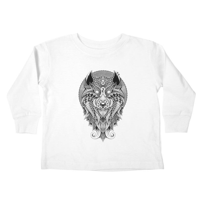 Wild Spirit Kids Toddler Longsleeve T-Shirt by godzillarge's Artist Shop