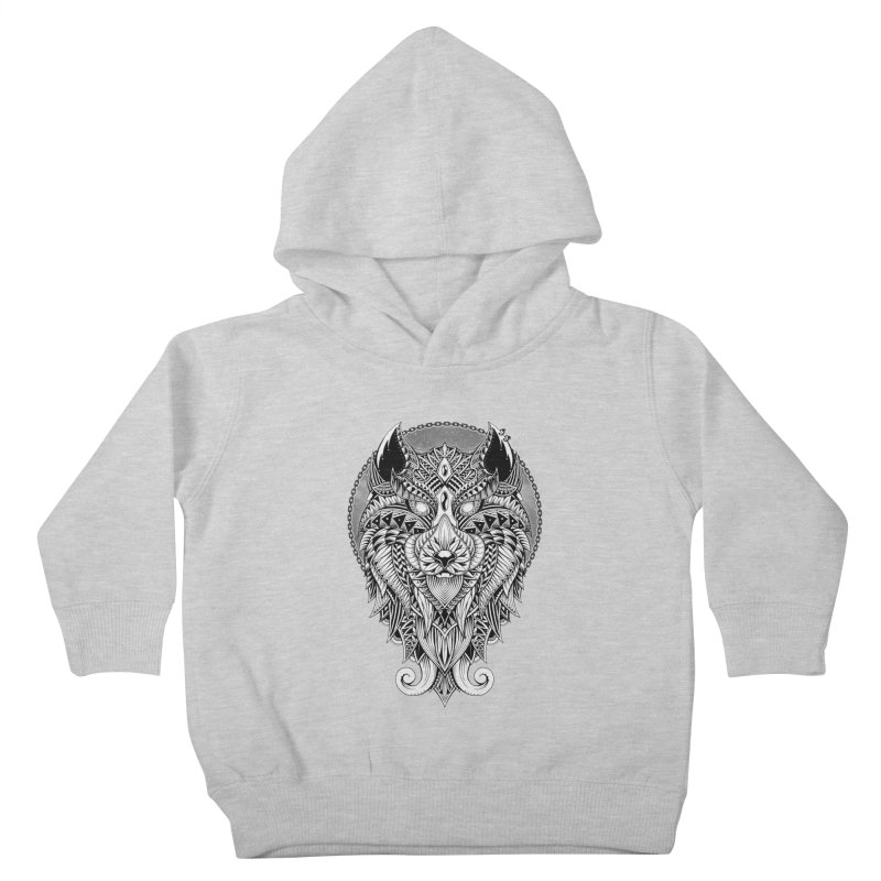 Wild Spirit Kids Toddler Pullover Hoody by godzillarge's Artist Shop