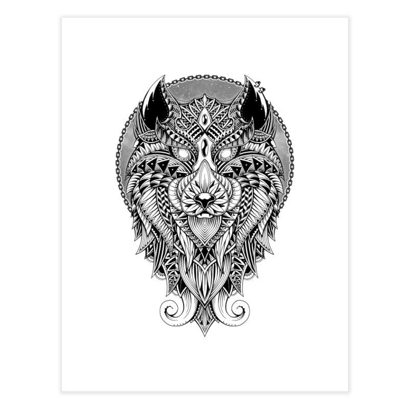 Wild Spirit Home Fine Art Print by godzillarge's Artist Shop