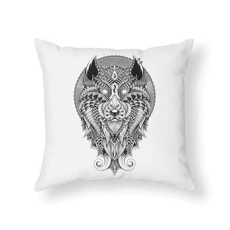 Wild Spirit Home Throw Pillow by godzillarge's Artist Shop
