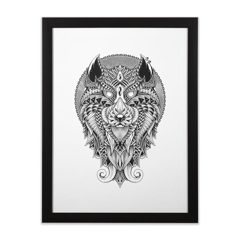 Wild Spirit Home Framed Fine Art Print by godzillarge's Artist Shop