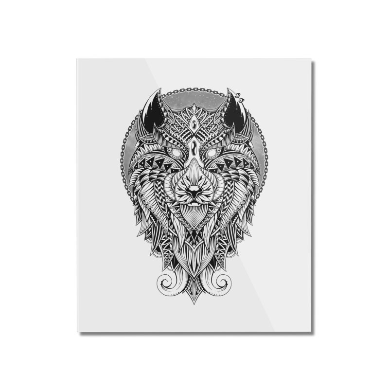 Wild Spirit Home Mounted Acrylic Print by godzillarge's Artist Shop