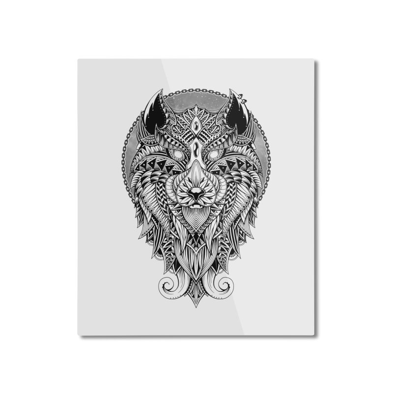 Wild Spirit Home Mounted Aluminum Print by godzillarge's Artist Shop