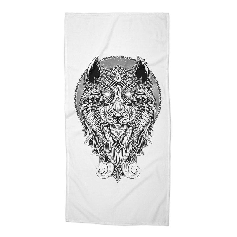 Wild Spirit Accessories Beach Towel by godzillarge's Artist Shop