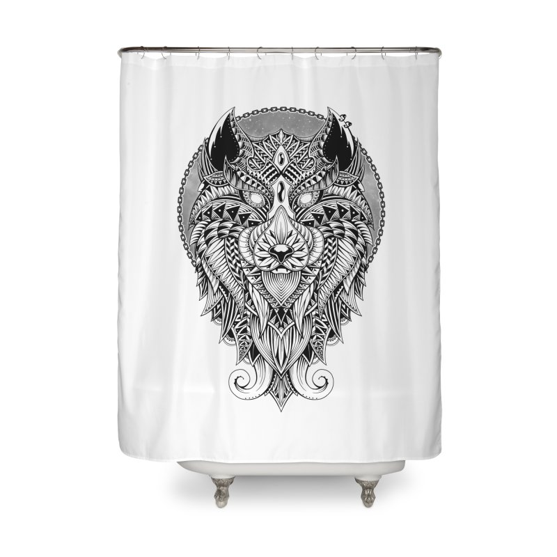 Wild Spirit Home Shower Curtain by godzillarge's Artist Shop