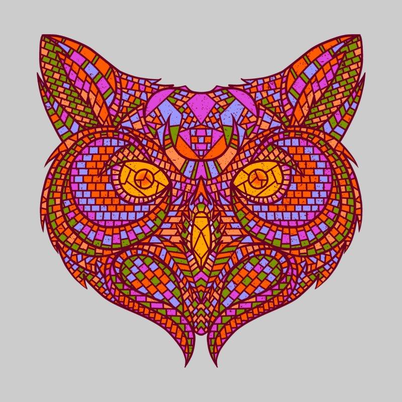 Owl Mosaic by godzillarge's Artist Shop