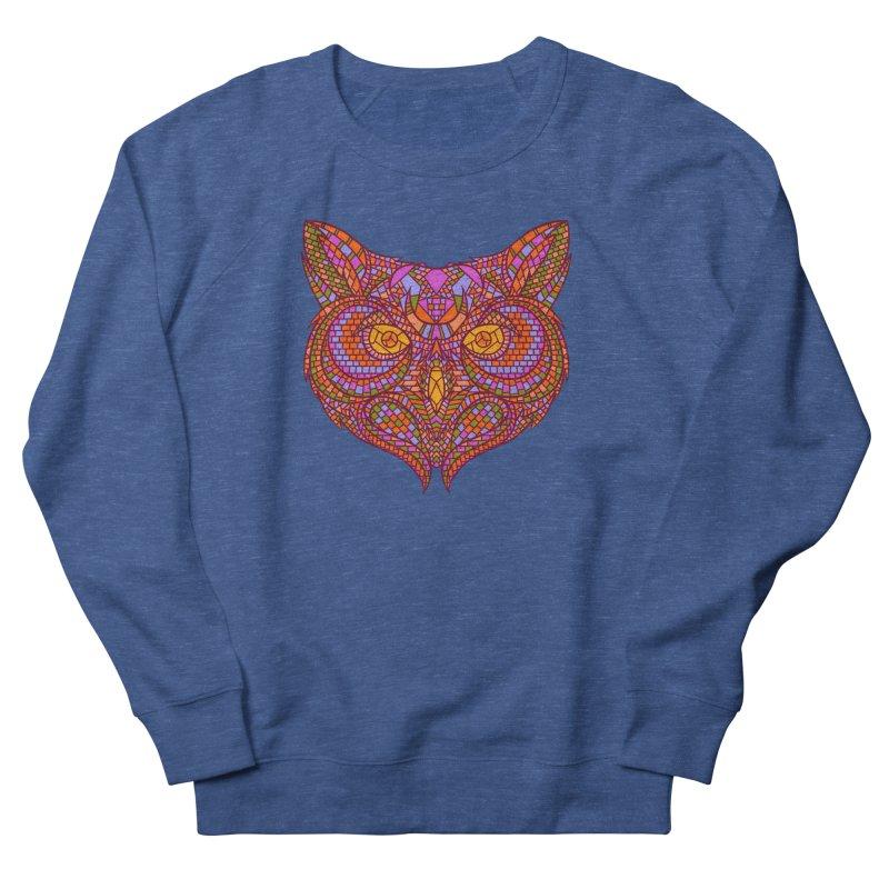 Owl Mosaic Women's Sweatshirt by godzillarge's Artist Shop