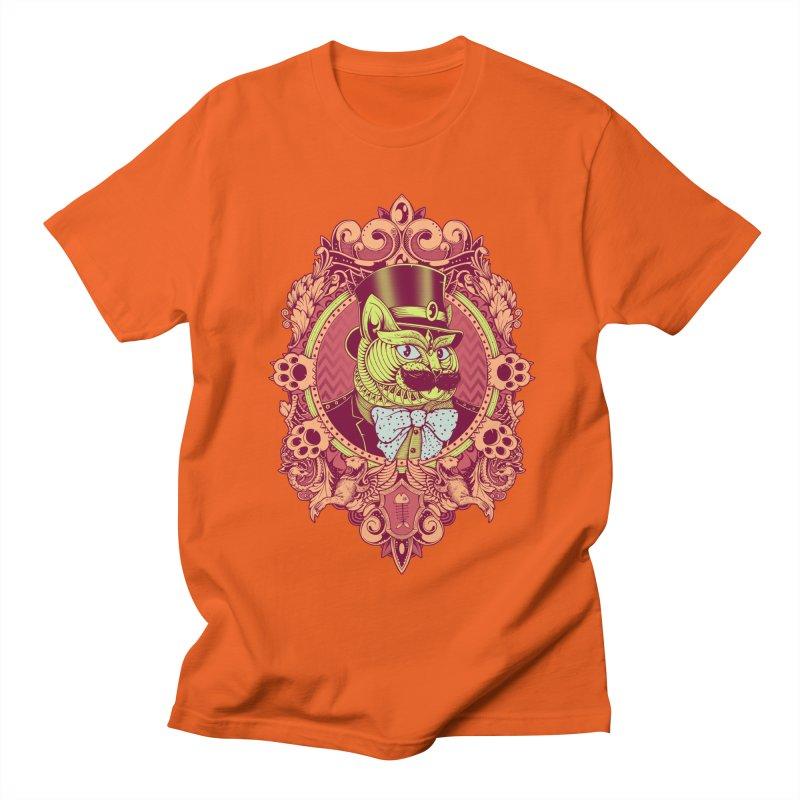 Hipster Mustache Cat Women's Unisex T-Shirt by godzillarge's Artist Shop