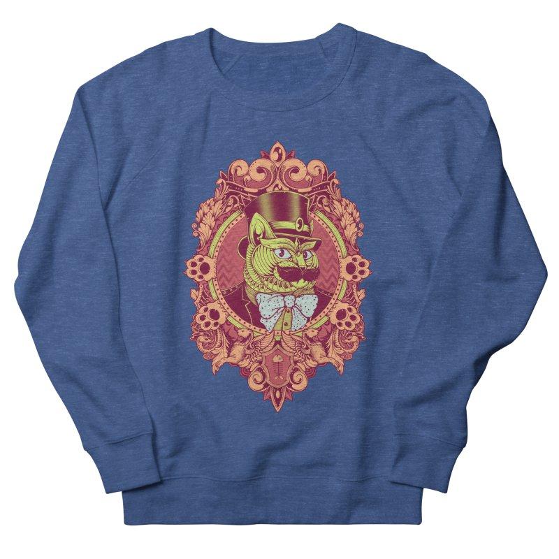Hipster Mustache Cat Women's Sweatshirt by godzillarge's Artist Shop